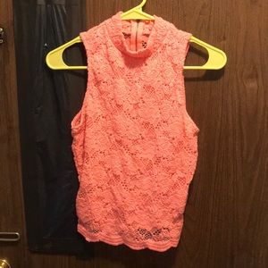 Small Charlotte Russe hot pink blouse